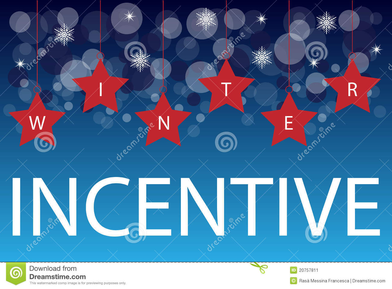 Winter Incentive Background Stock Image Image 20757811