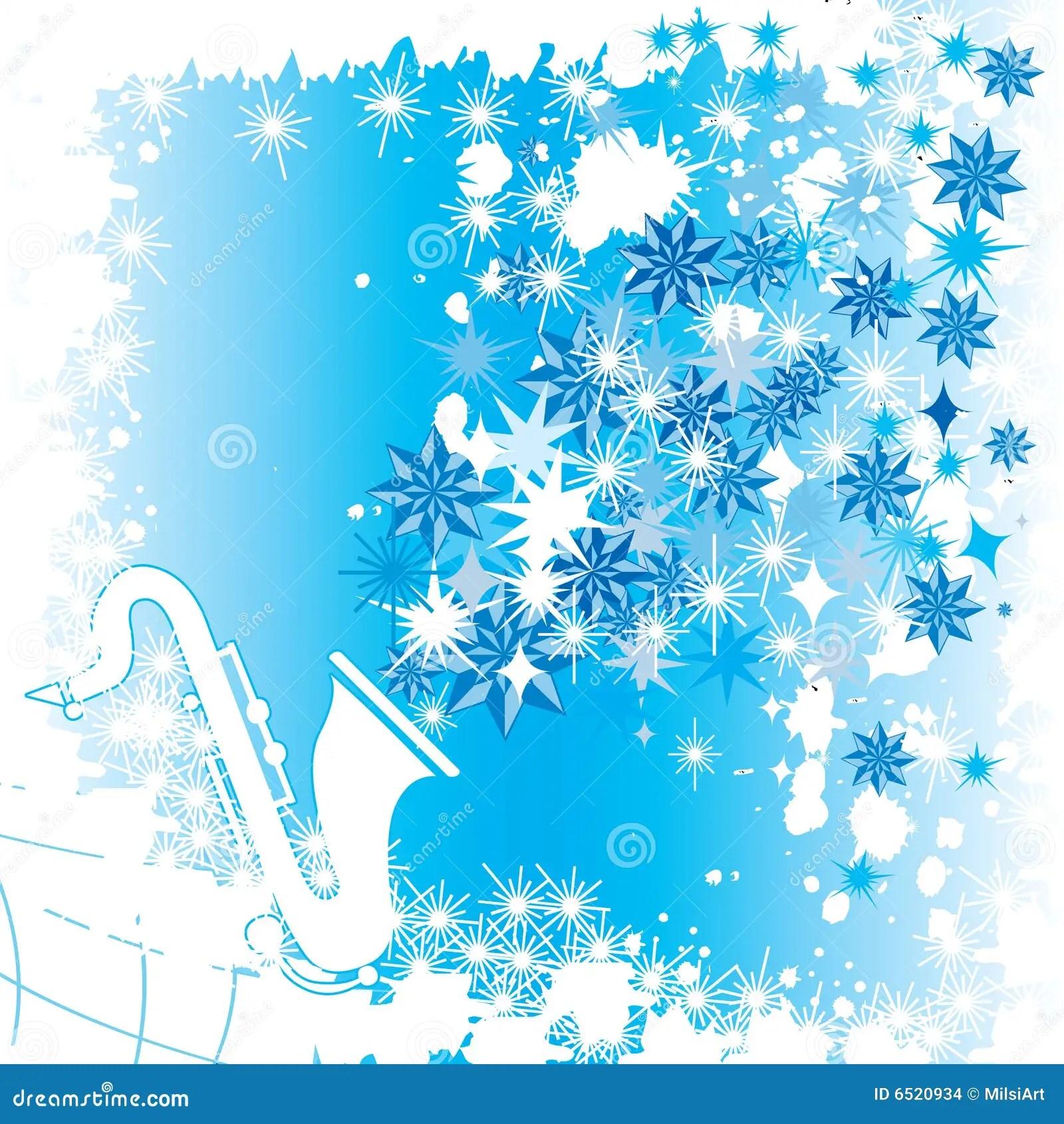 Winter Music Stock Vector Illustration Of Illustration