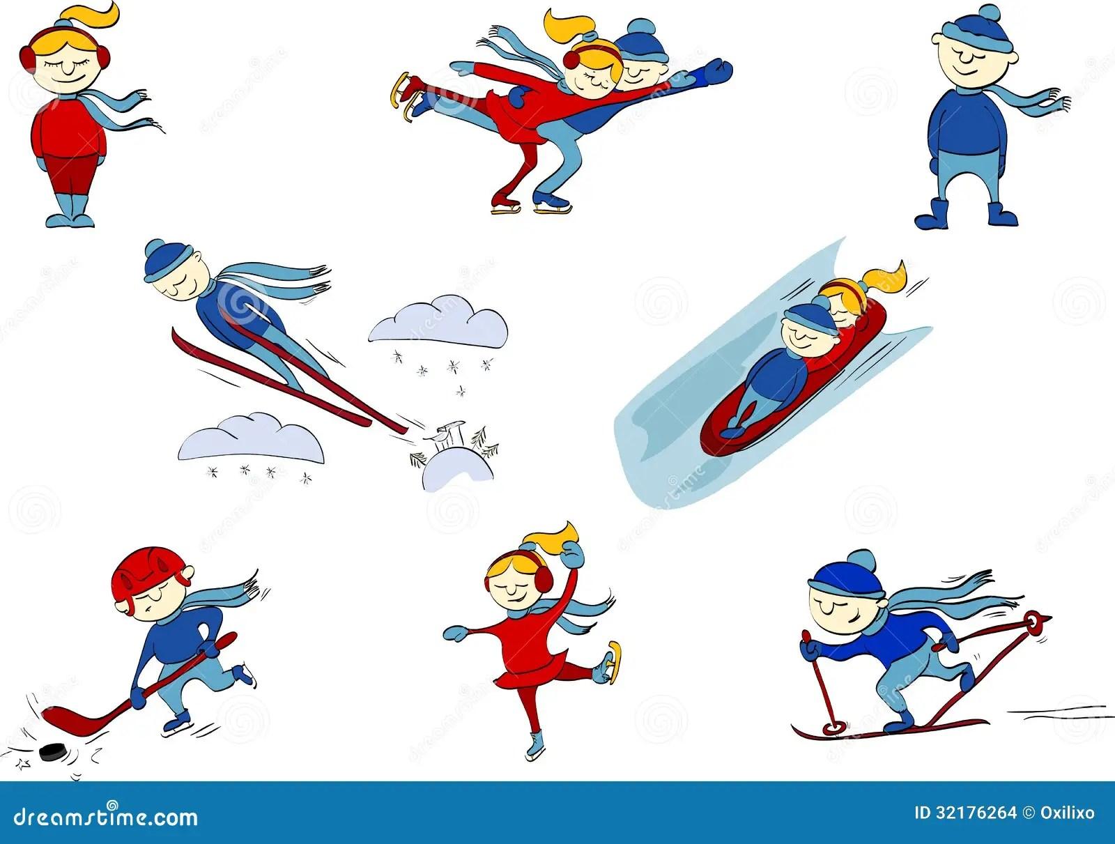 Worksheet Winter Sports