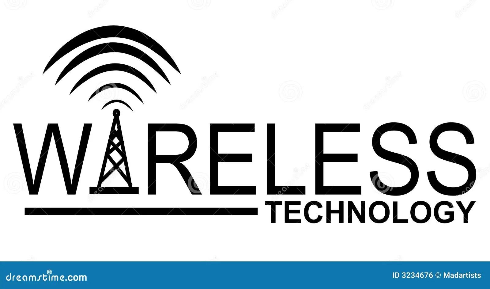 Wireless Technology Logo Stock Illustration Illustration Of Connectivity
