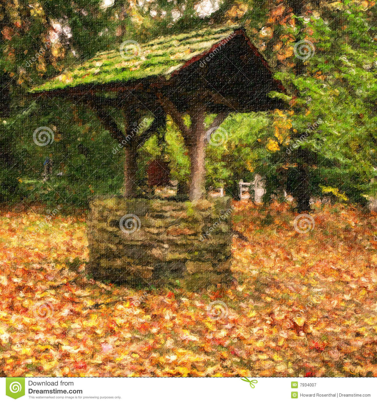 Wishing Well In Countryside Royalty Free Stock Photography Image 7934007