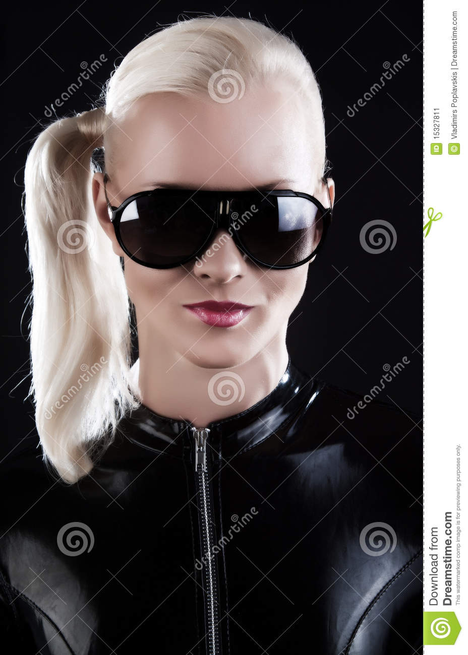 Woman Is Wearing Latex Suit Stock Image Image 15327811