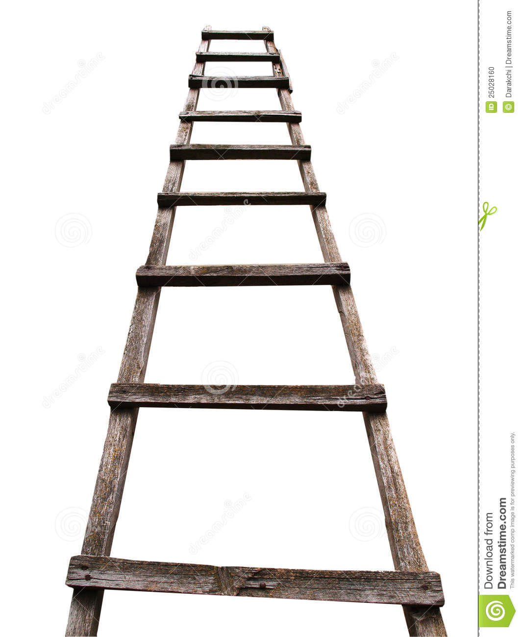 Wooden Ladder Stock Photo Image Of Wooden Success