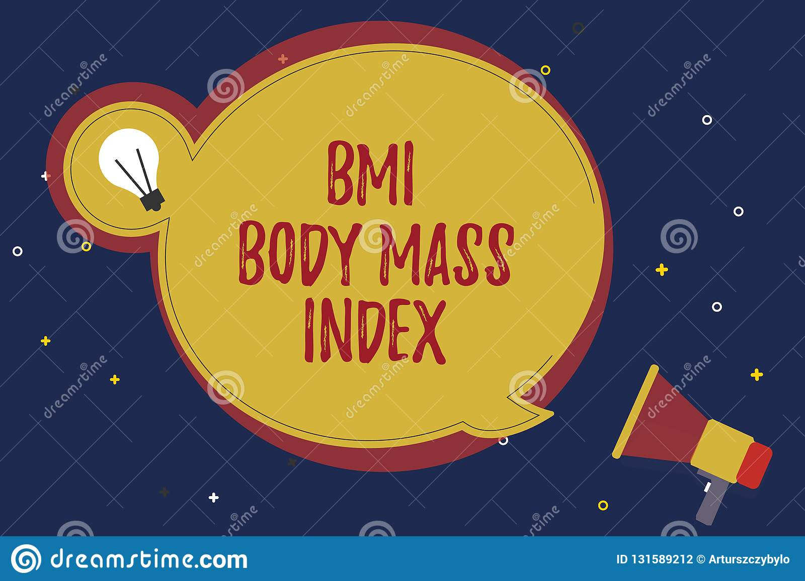 Word Writing Text Bmi Body Mass Index Business Concept