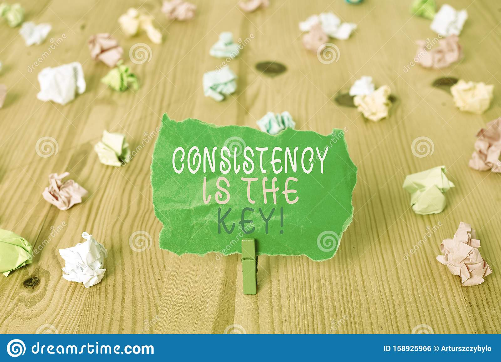 Word Writing Text Consistency Is The Key Business Concept