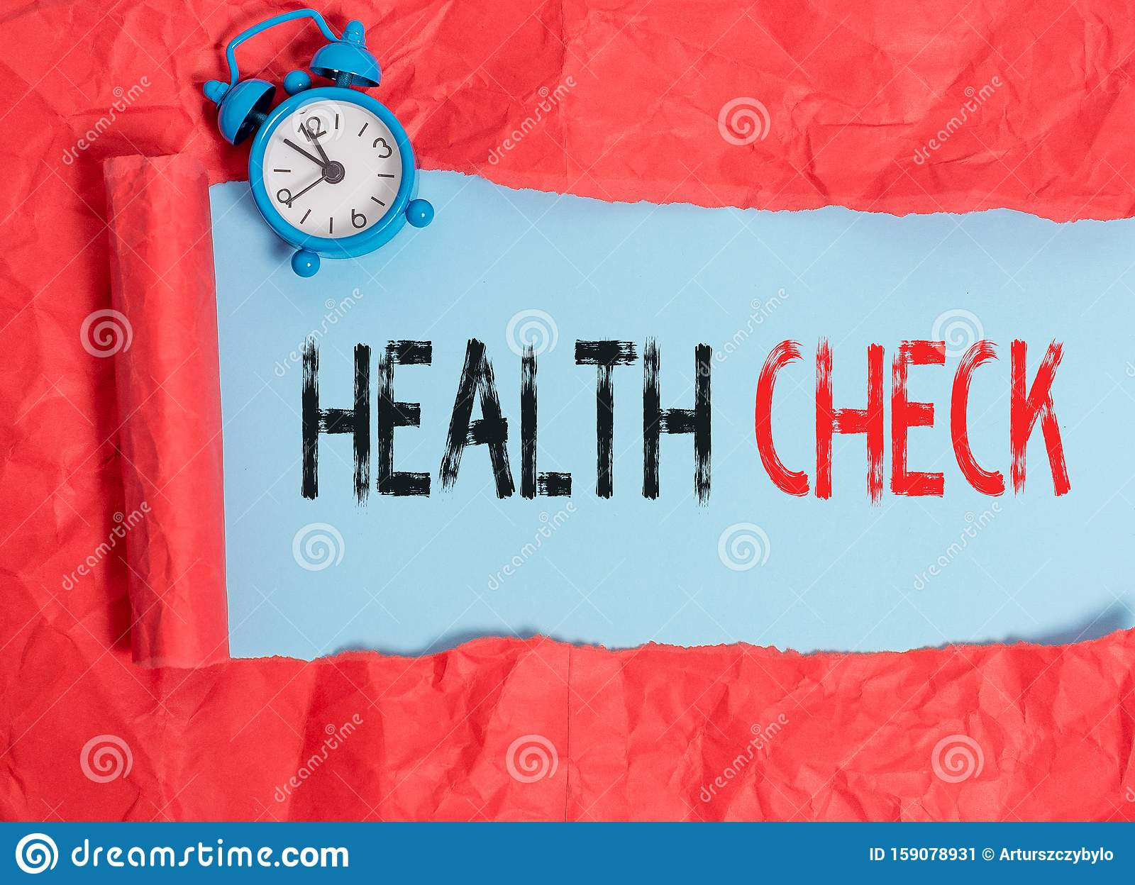 Word Writing Text Health Check Business Concept For