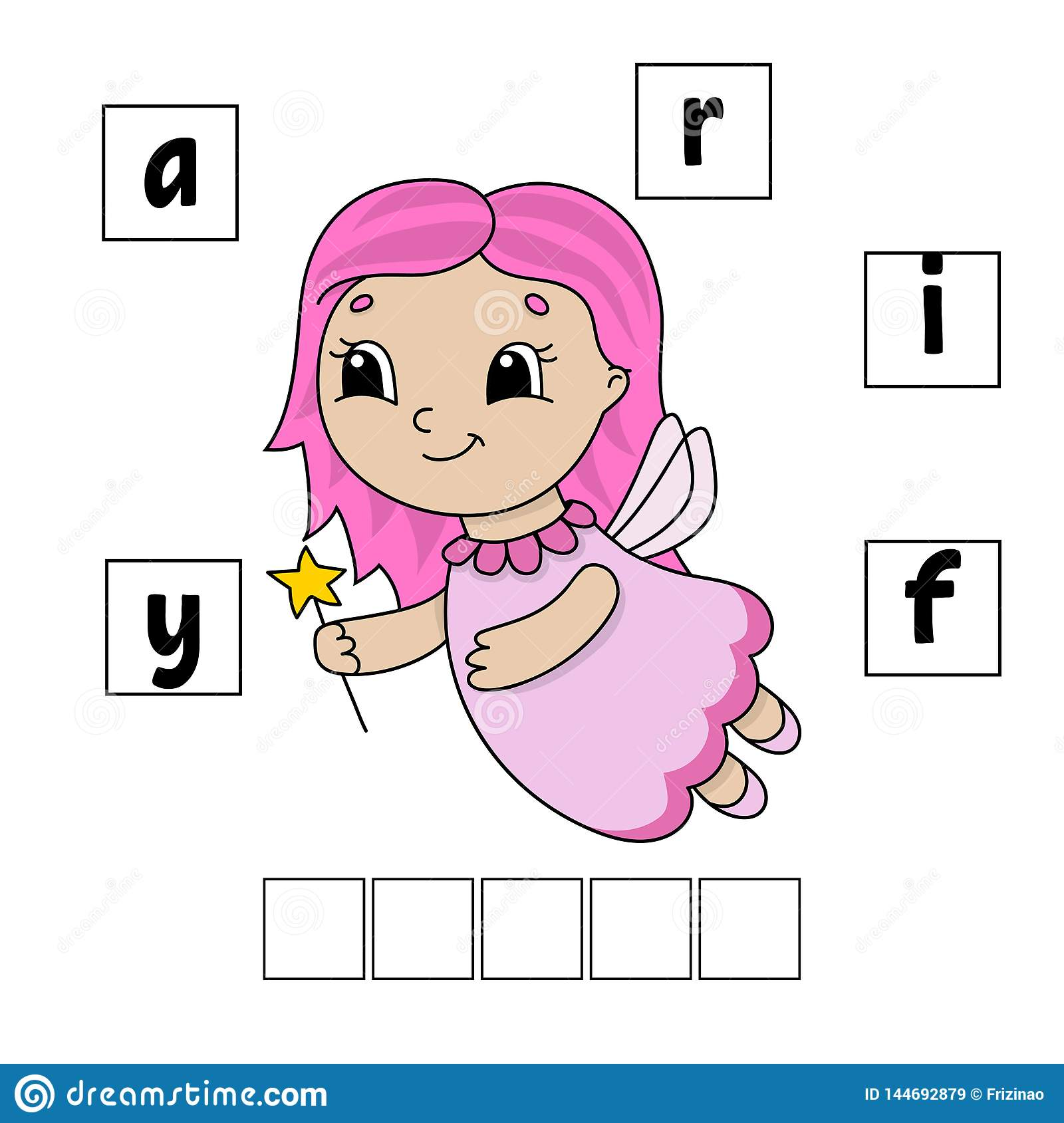 Words Puzzle Education Developing Worksheet Learning
