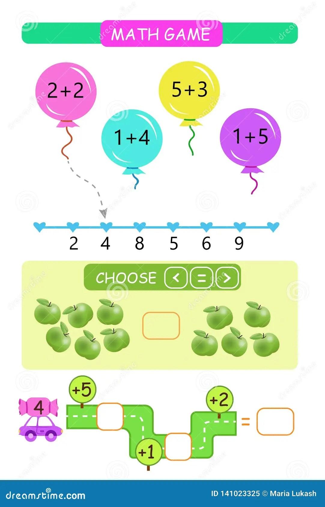 Preschool Worksheet Gallery Counting Addition
