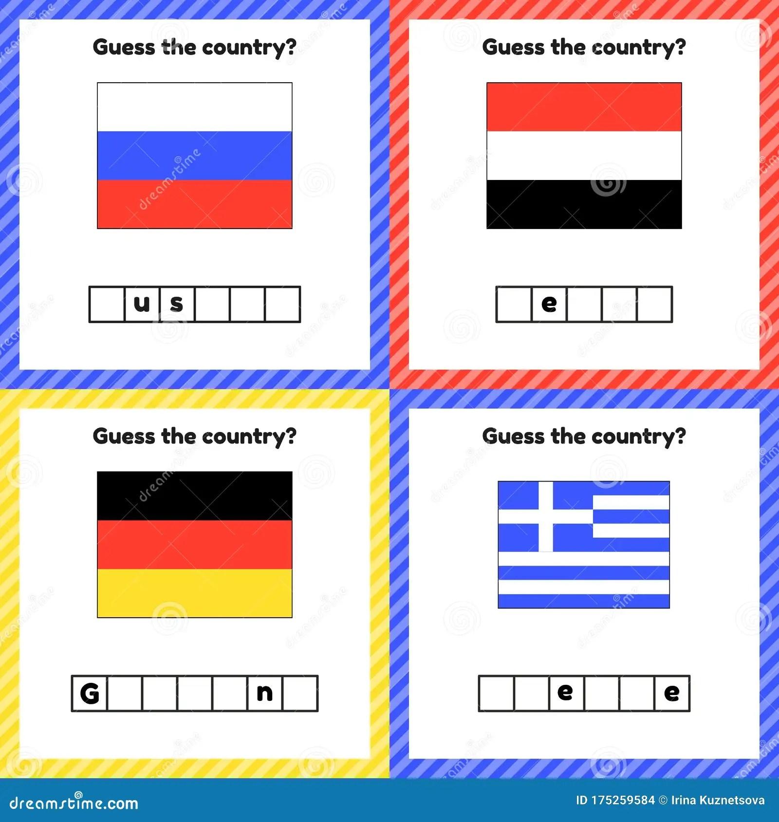 Worksheet On Geography For Preschool And School Kids Set