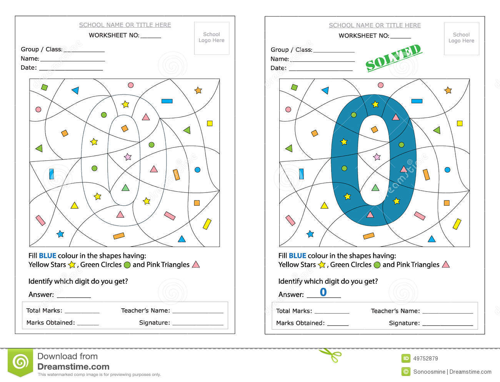 Hidden Image Worksheet Kidzone