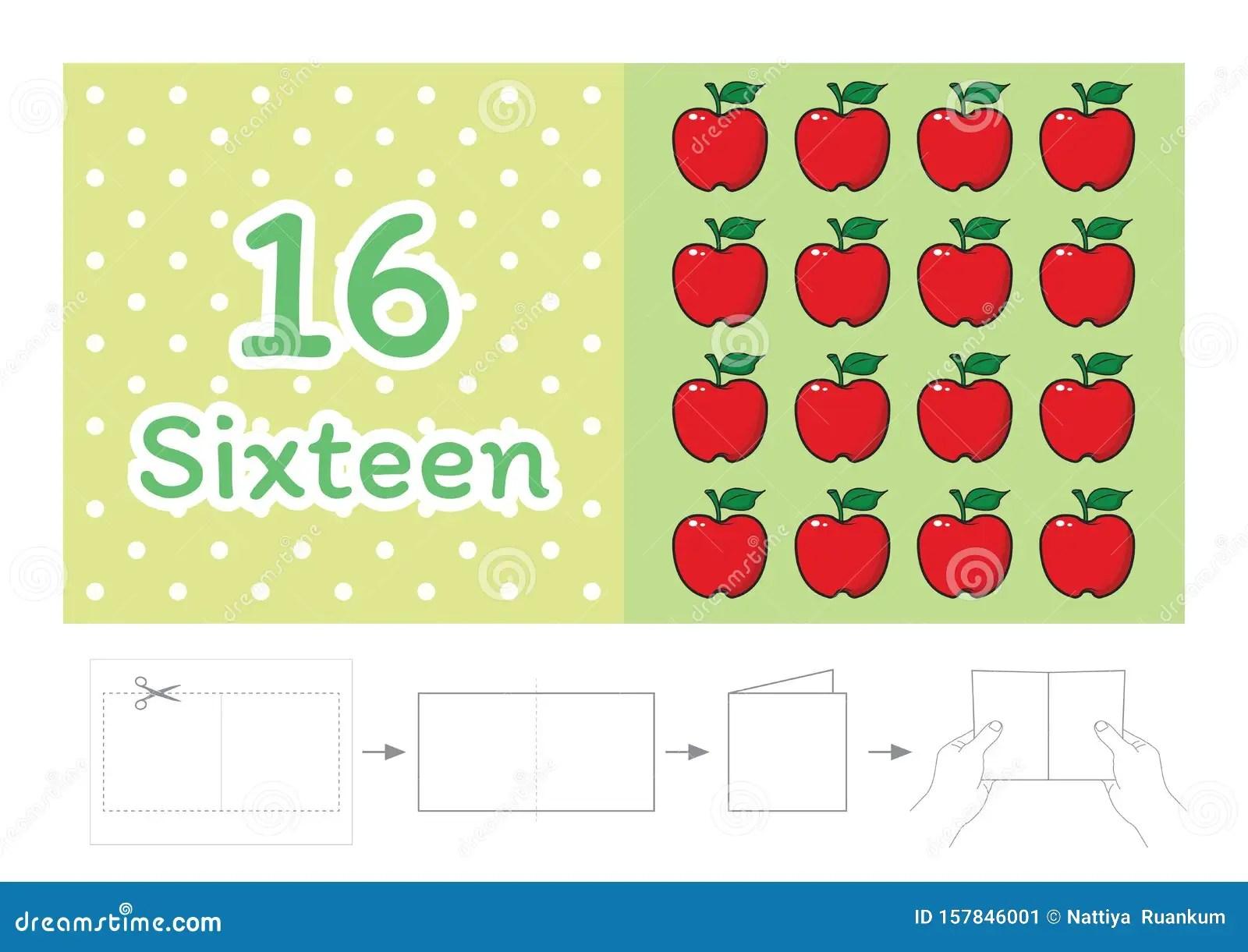 Worksheet For Kindergarten Kids Count The Number Of