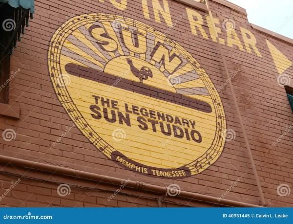 The World Famous And Legendary Sun Studio, Memphis ...