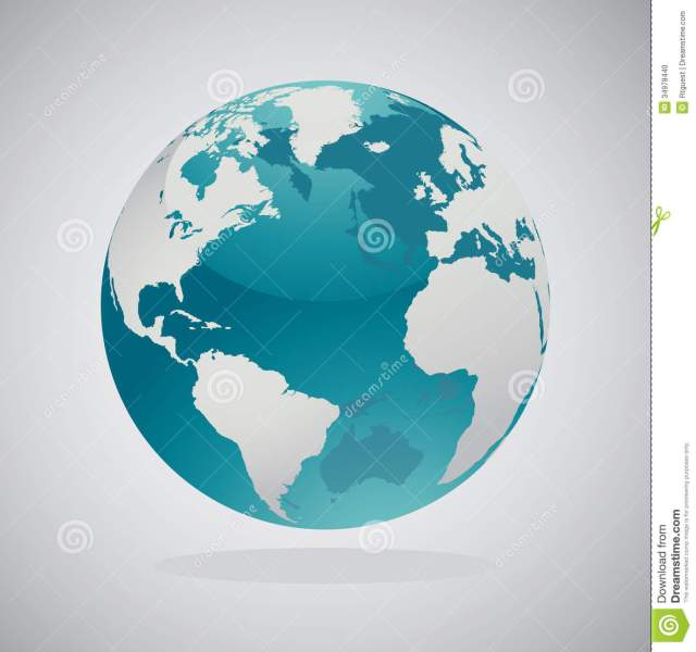 World Globe Maps   Vector Design Stock Vector   Illustration of     World Globe Maps   Vector Design