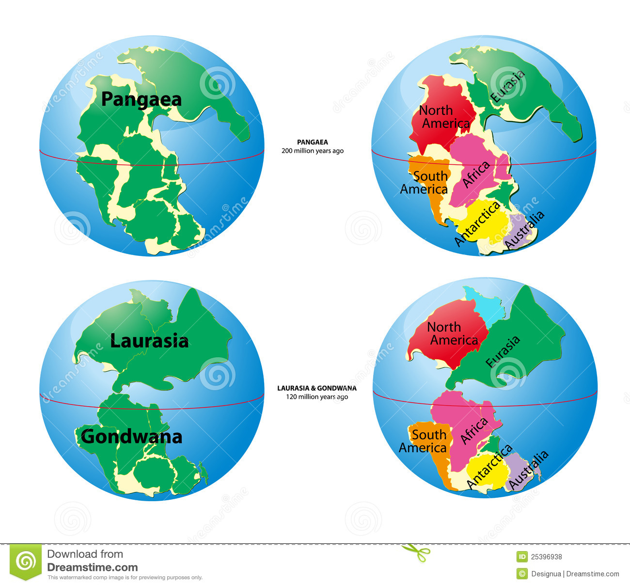 Pangaea Tectonic Plates Worksheet