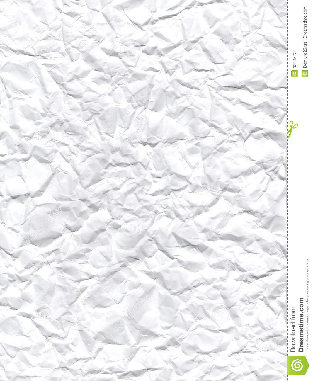 Wrinkled Paper Texture Royalty Free Stock Images
