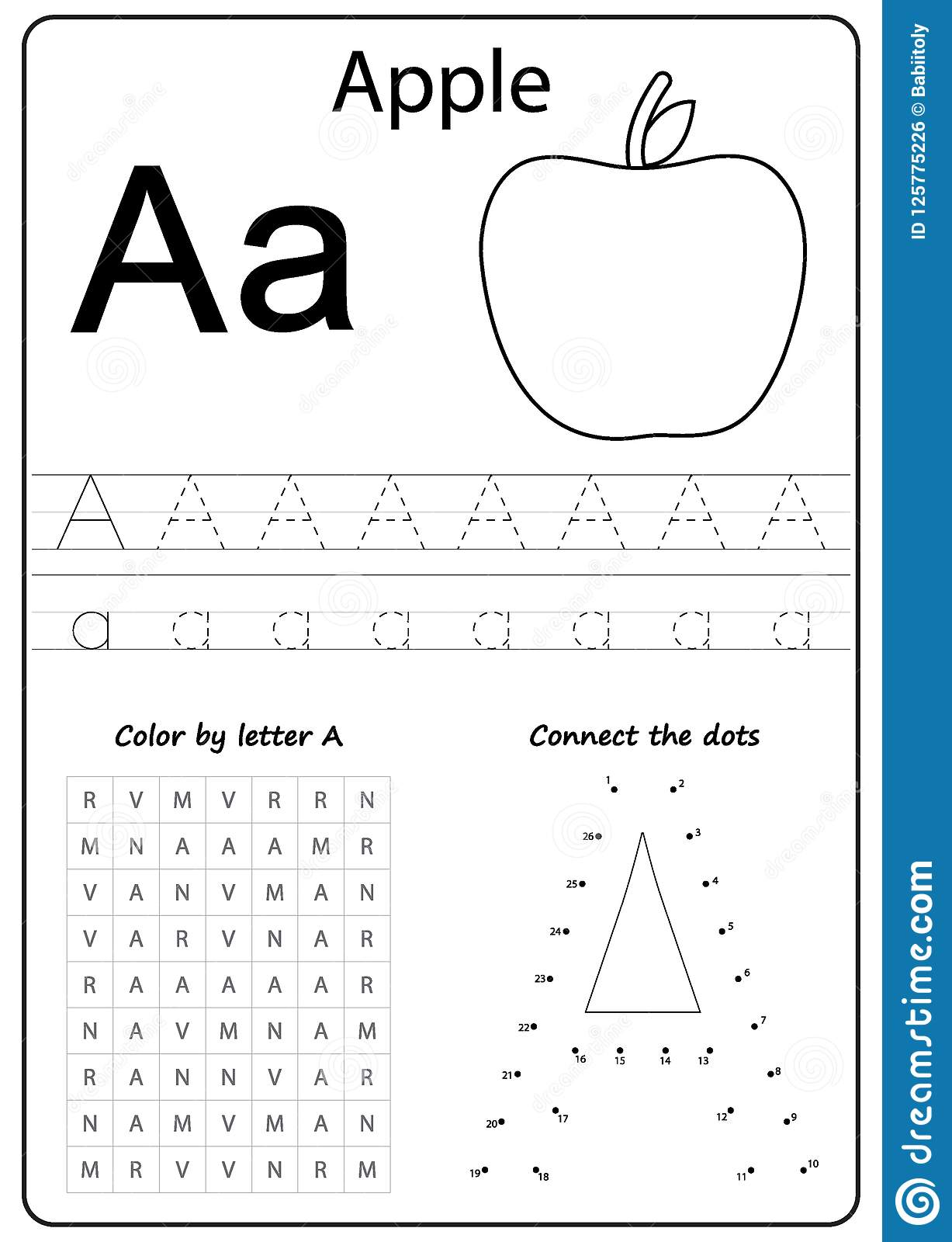 A To Z Alphabet Worksheets