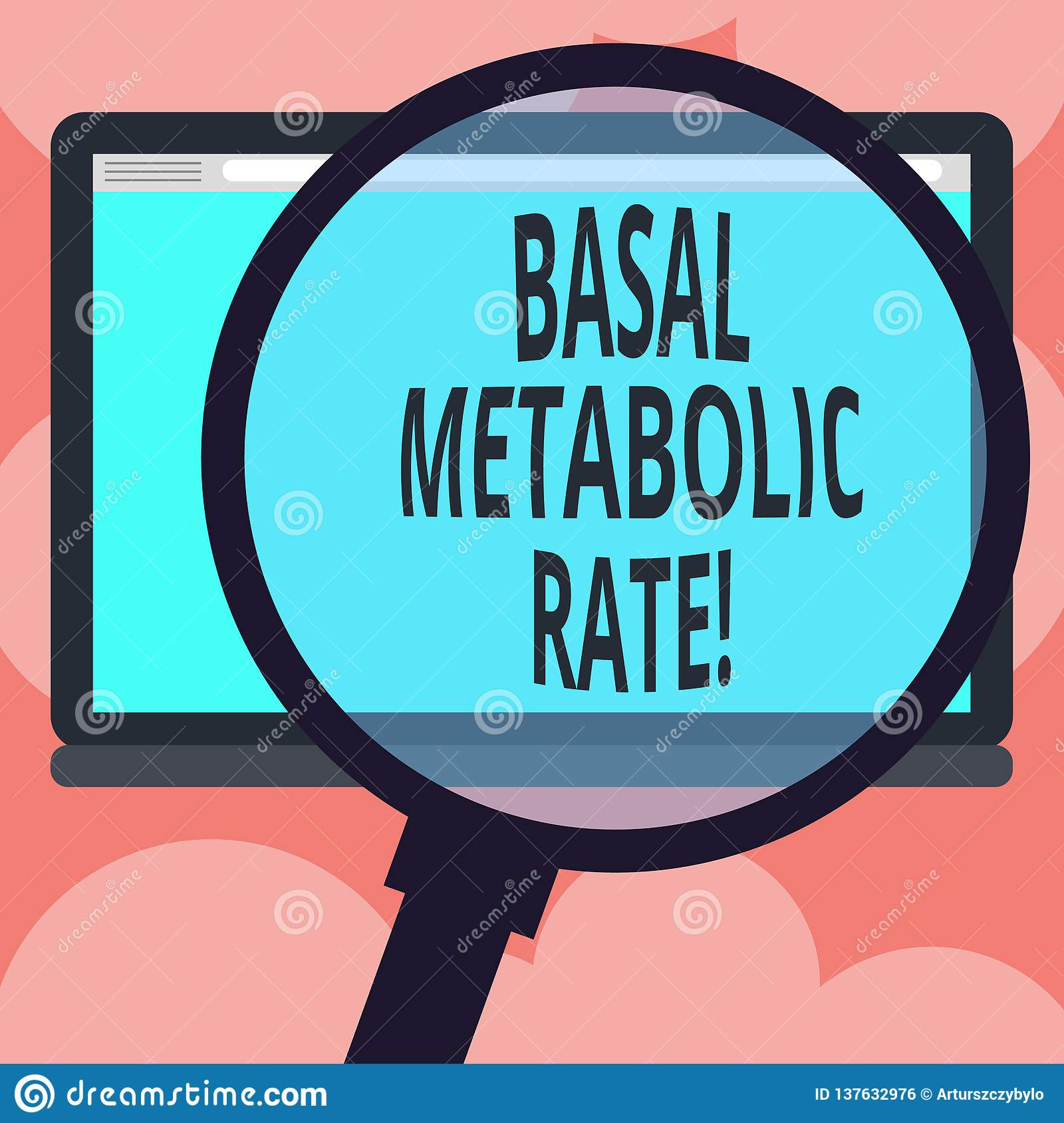 Writing Note Showing Basal Metabolic Rate Business Photo