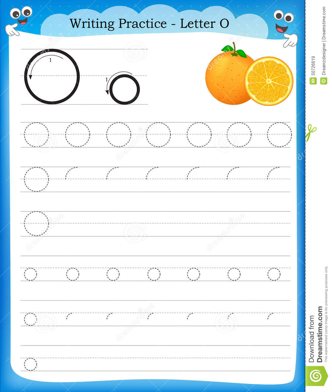 Oo Worksheet Printable