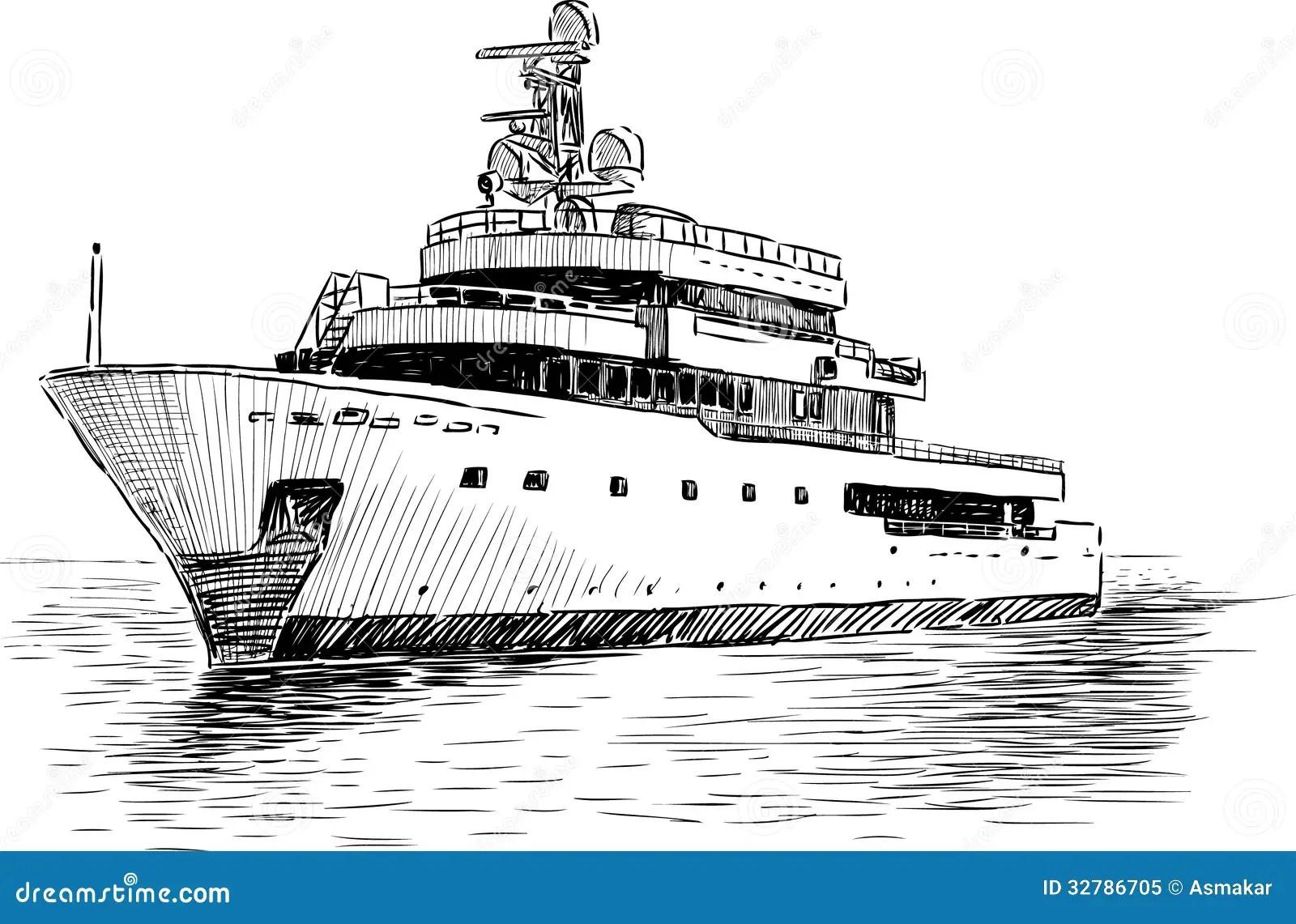 Yacht De Croisiere Photo Libre De Droits
