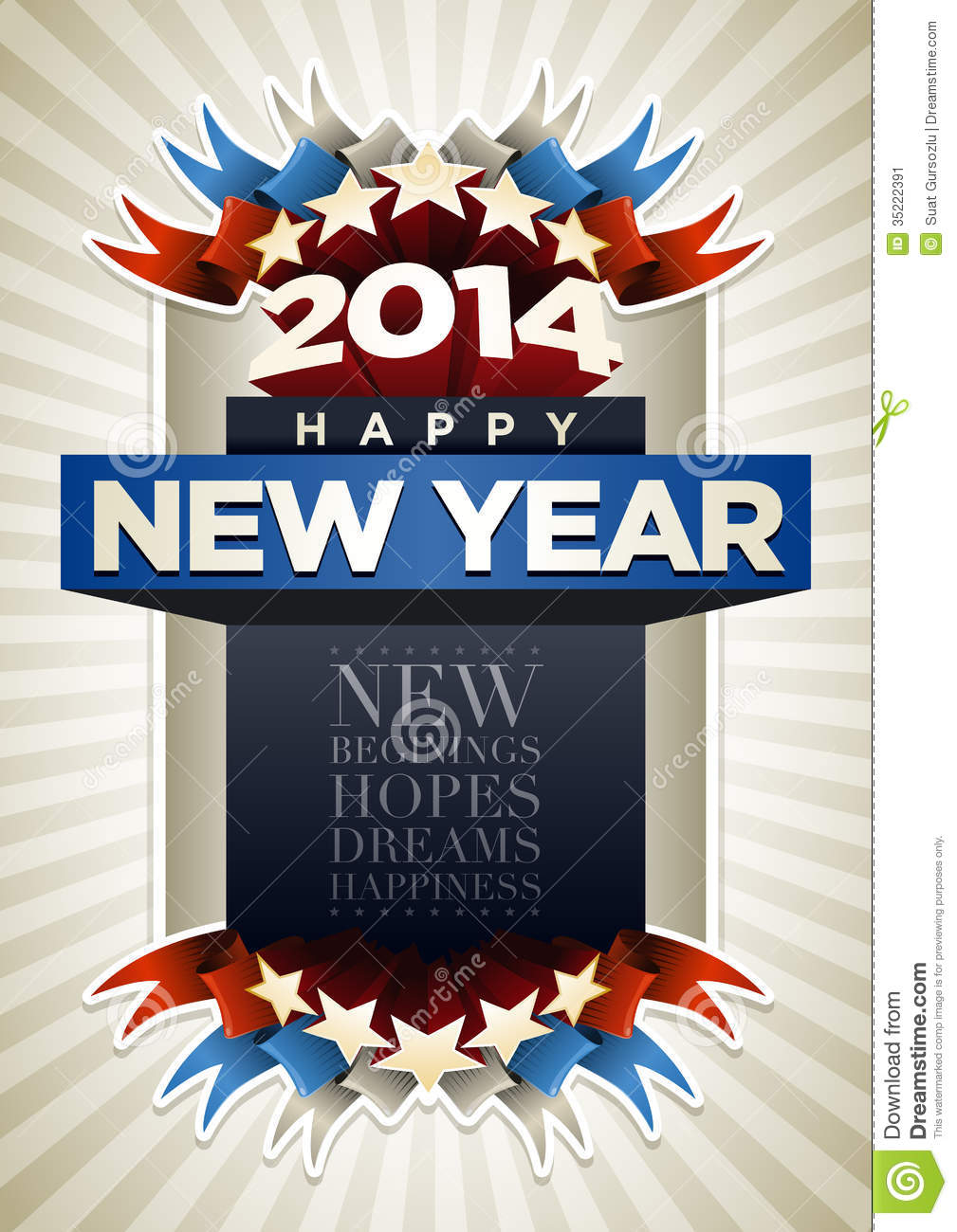new year poster designs