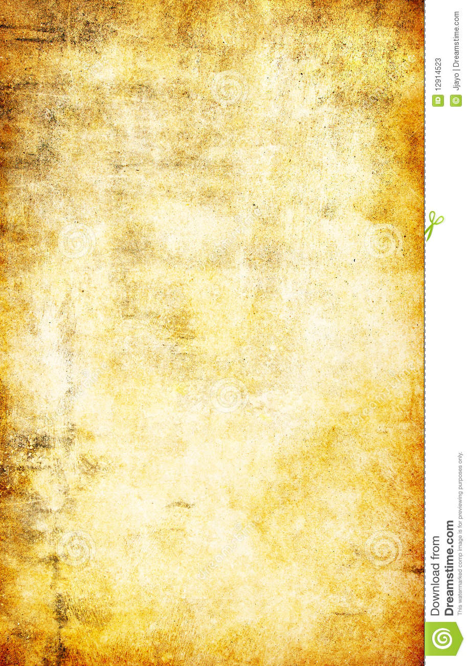 Yellow Grunge Textured Abstract Background Stock Photos Image 12914523