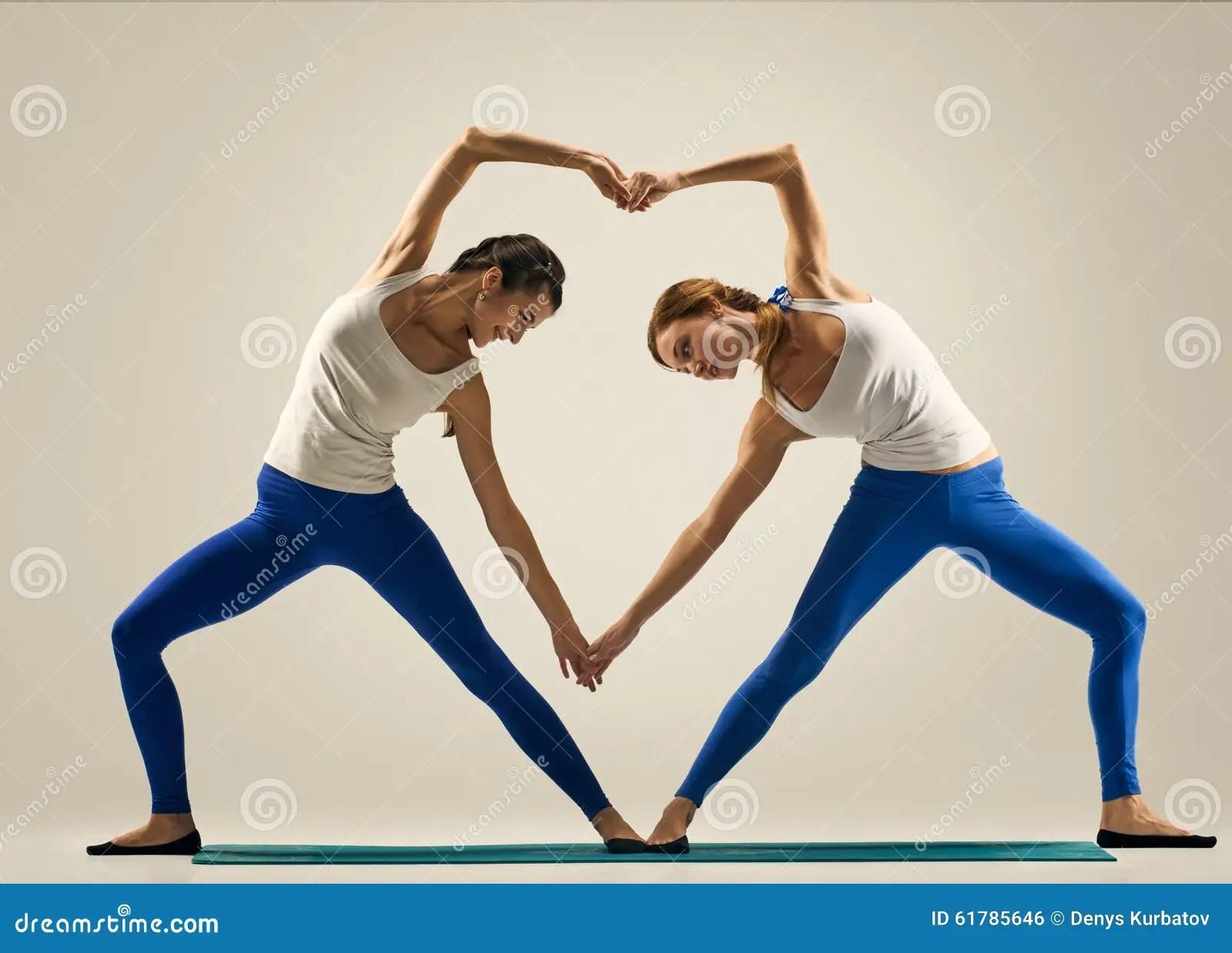 Partner Yoga Poses 2 People