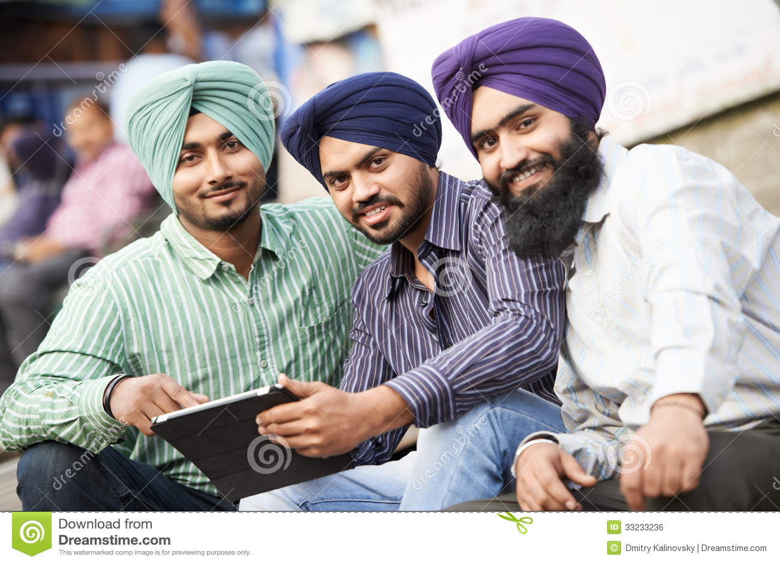 Sikh Punjabi Sardar Playing Dhol And Dancing Bhangra On Holiday Like Lohri Or Vaisakhi Cartoon