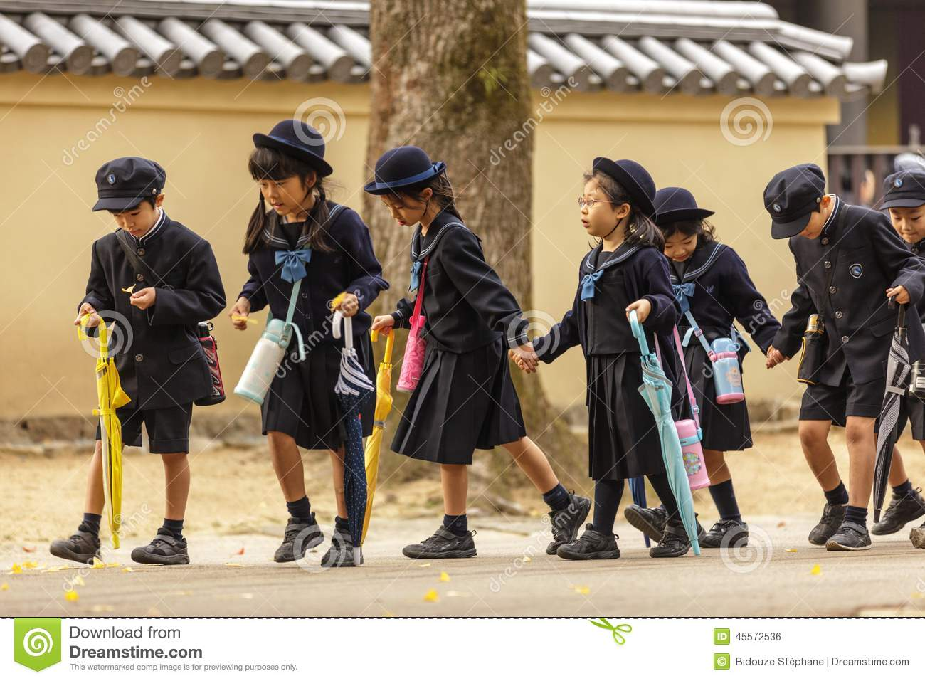 Young Japanese Pupils Editorial Photo Image Of Home