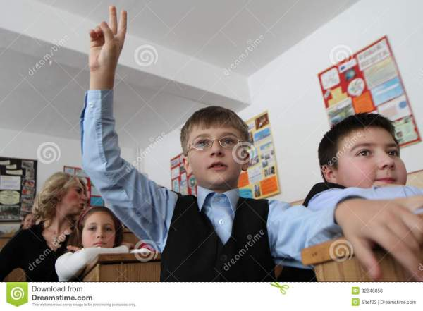 Young School Boy Editorial Stock Photo - Image: 32346858