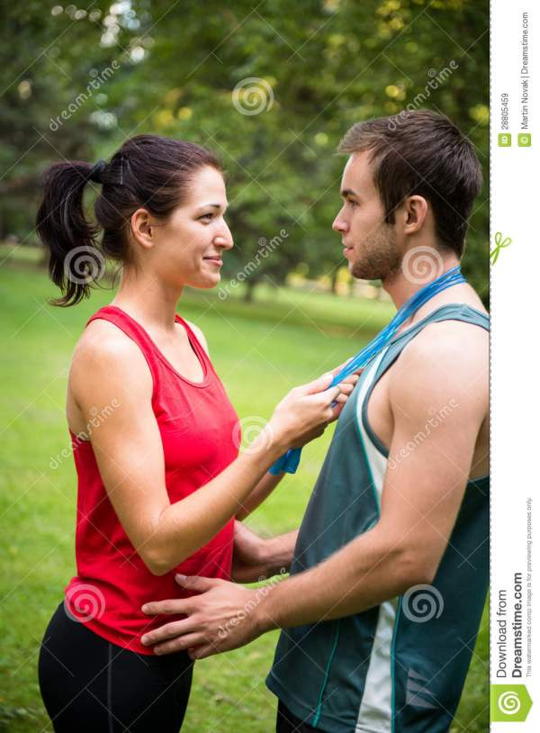Young Sport Couple In Love Royalty Free Stock Images ...