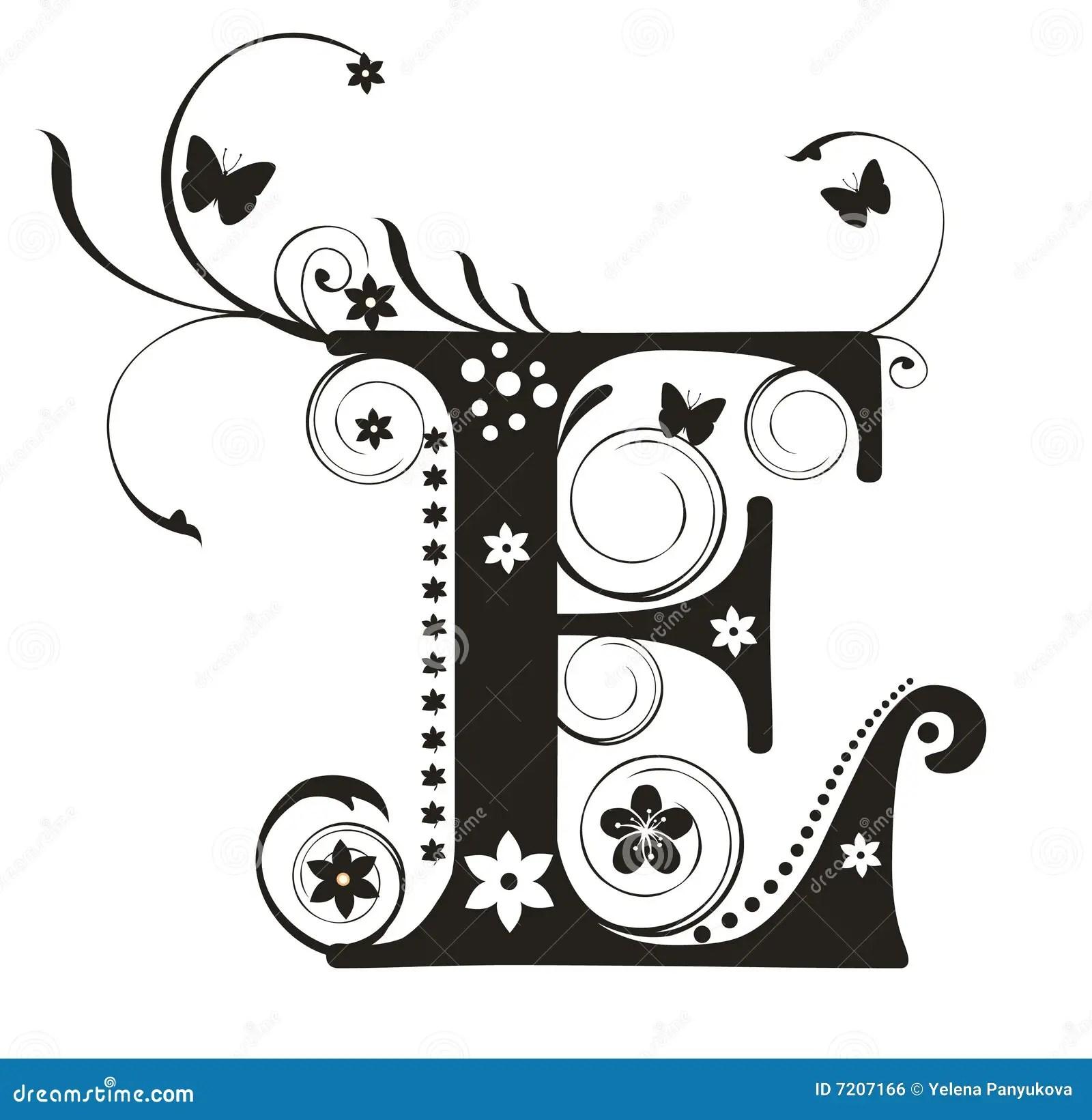 Zeichen E Vektor Abbildung Illustration Von Ausbildung
