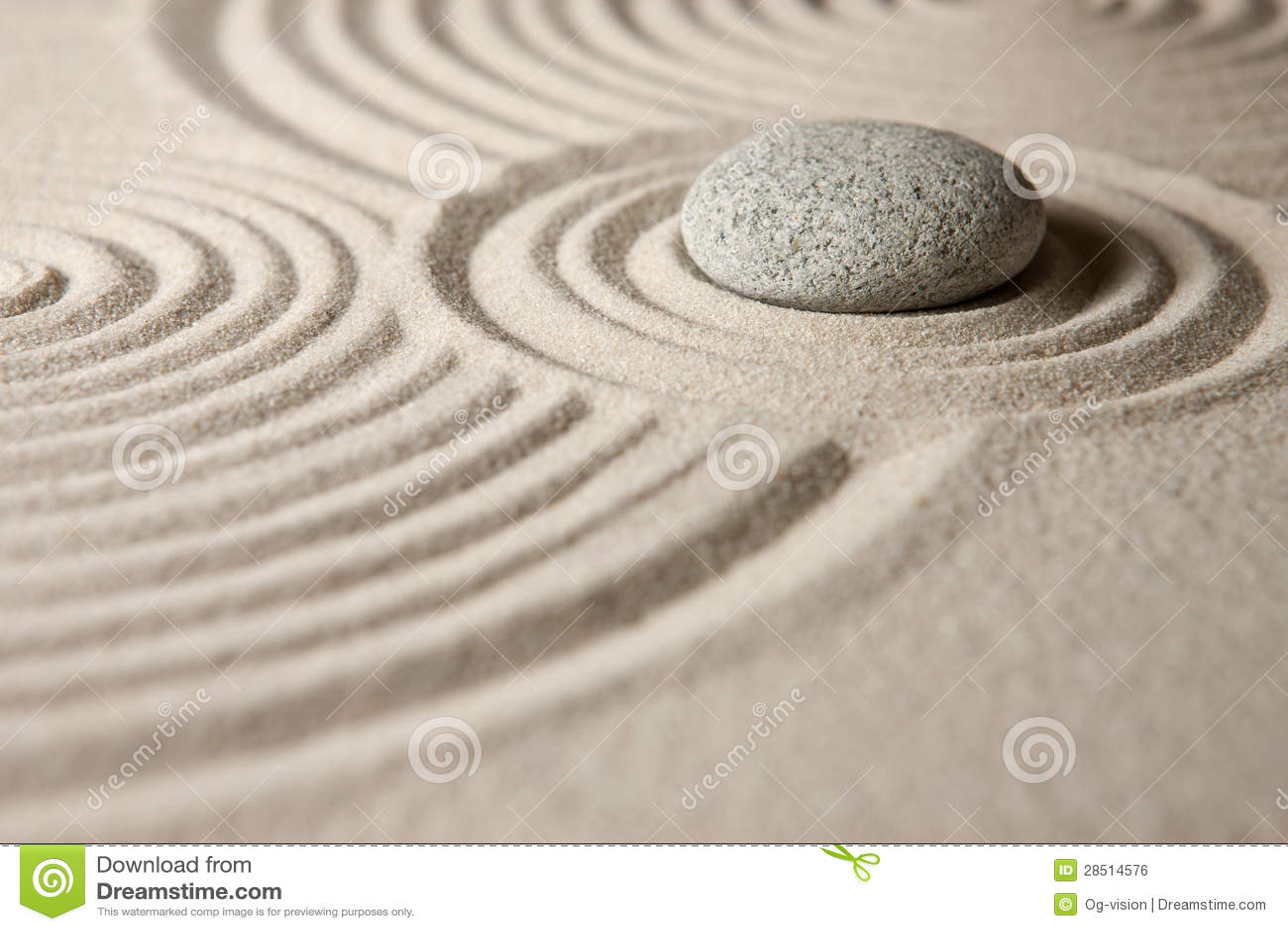 Zen Garden Stock Photo Image Of Space Balance Stone