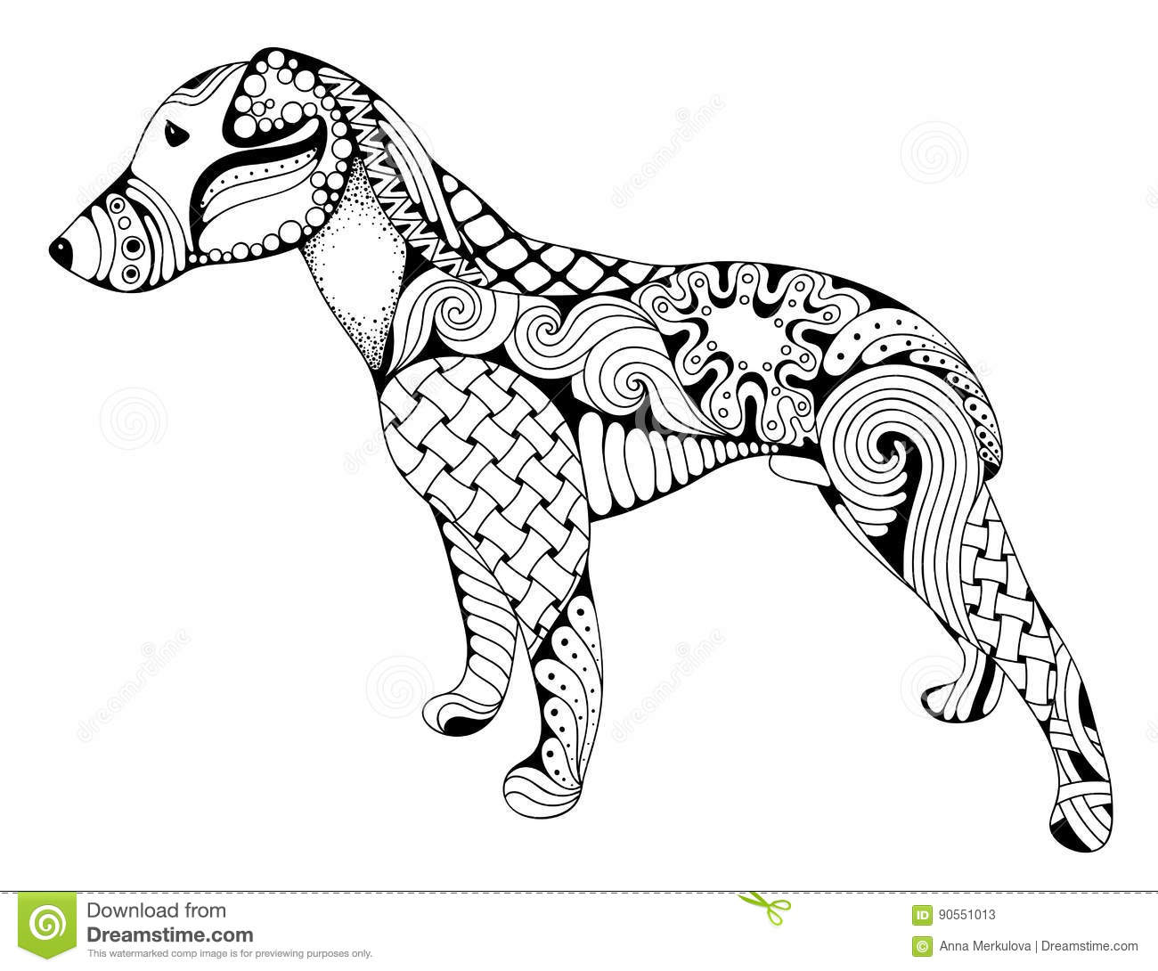Bloodhound Cartoons Illustrations Amp Vector Stock Images