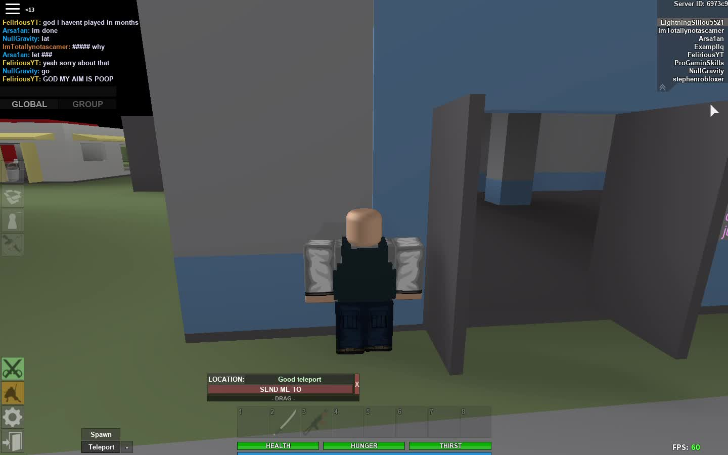 God Fps Roblox Games