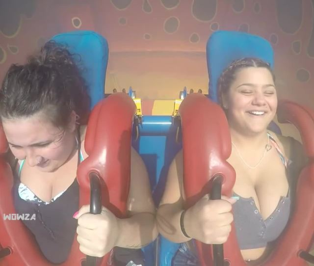 Slingshot Ride Funny Scared Girls Edition Compilation Part 34 Gif Find Make Share Gfycat Gifs