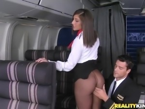 flight attendant blowjob real