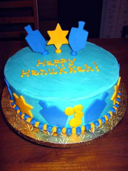 Hanukkah Apple Cake