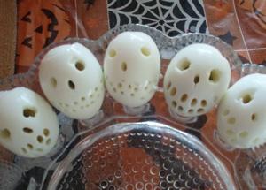 Halloween Special Deviled ägg
