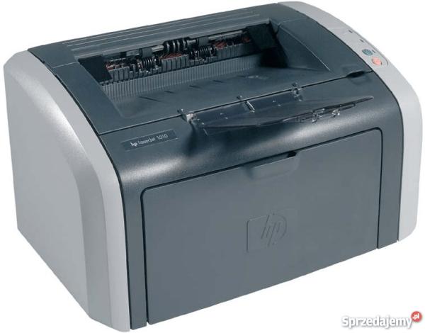 HP LaserJet 1010 NAJMNIEJSZA DRUKARKA LASEROWA Toner PEŁNY ...