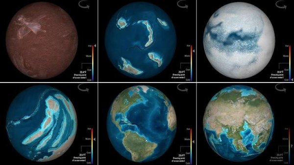 Travel Through Deep Time With This Interactive Earth