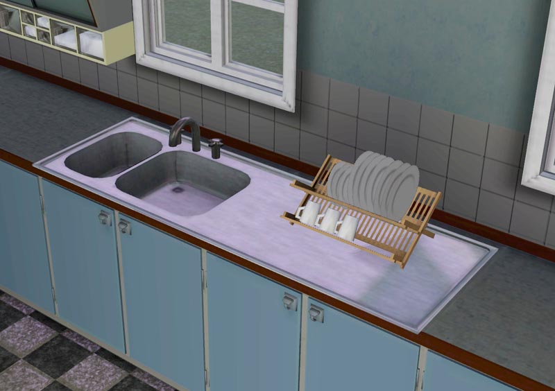 Mod The Sims The 50s Kitchen