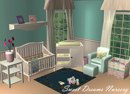 Mod The Sims SweetDreams Nursery Set