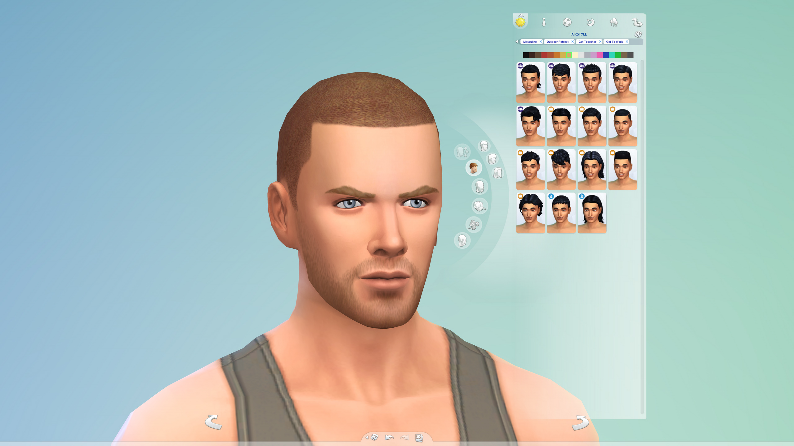 Mod The Sims More Columns in CAS