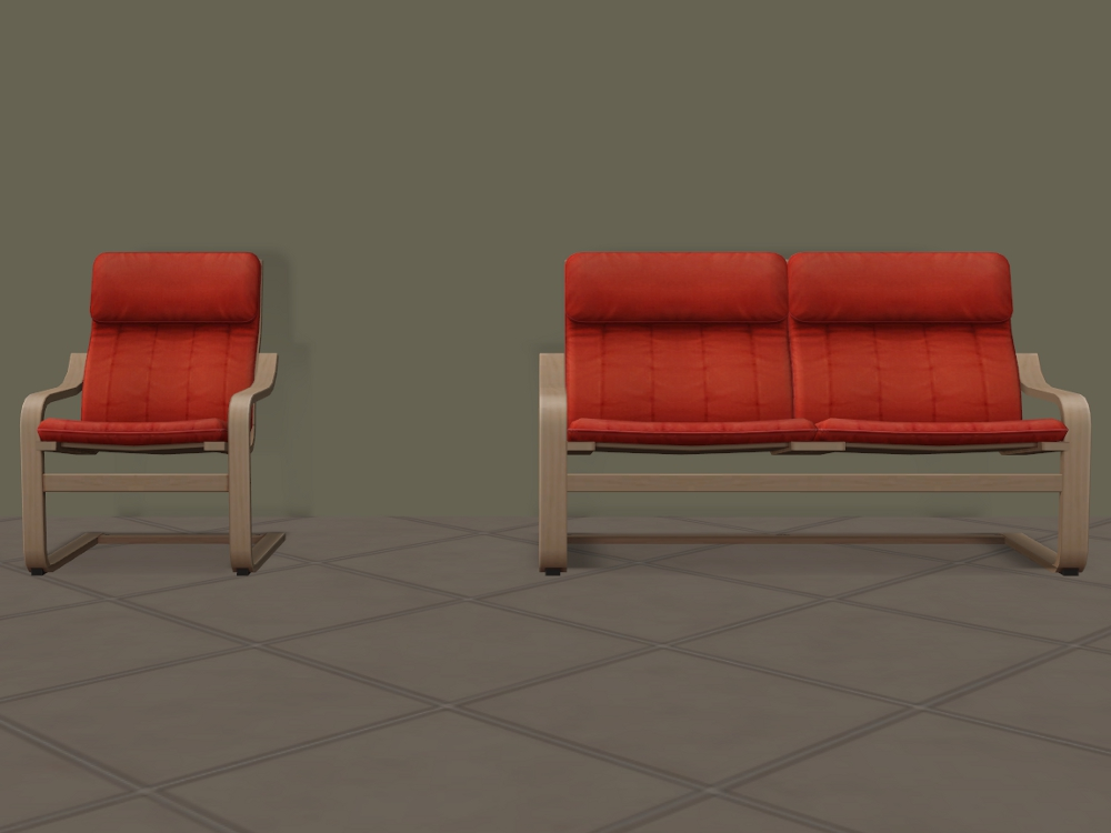 Mod The Sims IKEA Toddler Armchairs And Sofas