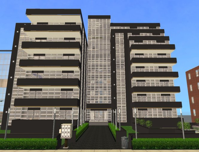 Number 16 Is A Huge Complex Of Four 2 Bedroomed Apartments Which The Brochure Says Lend Themselves To Urban Lifestyle Wver That Means