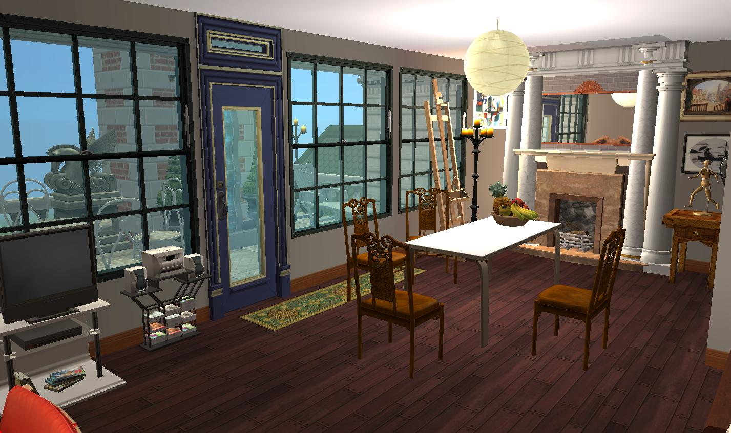 Mod The Sims Schinasi Mansion Junes House Neals