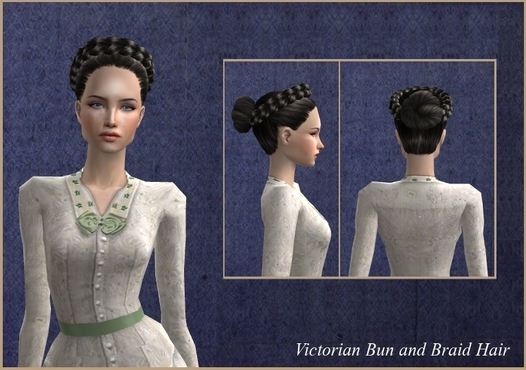 Mod The Sims 19th Century Hairstyles