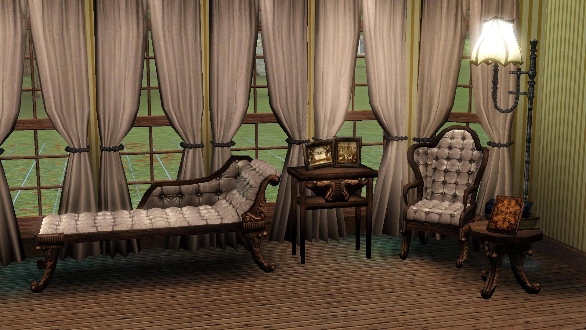 4 Decor Living Sims Room