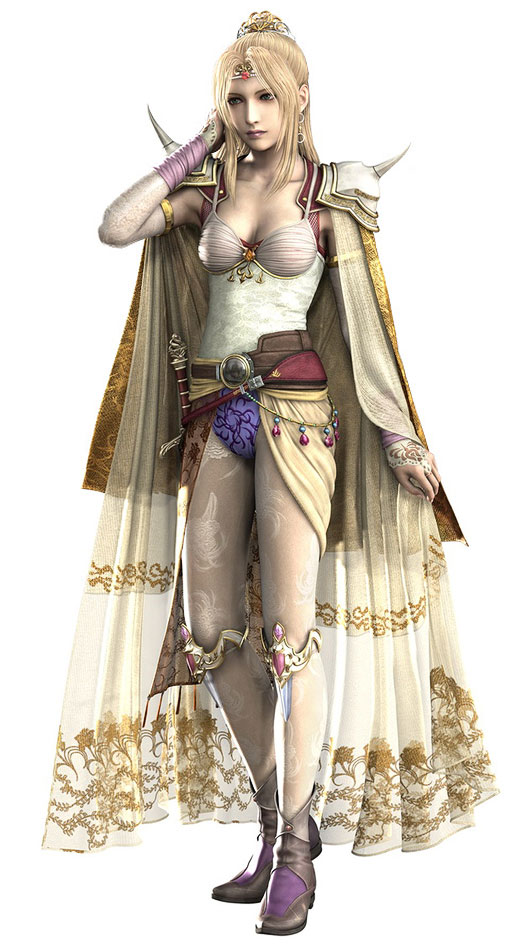 Mod The Sims Final Fantasy IV Rosas Outfit