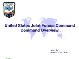 PPT - United States Joint Forces Command PowerPoint ...